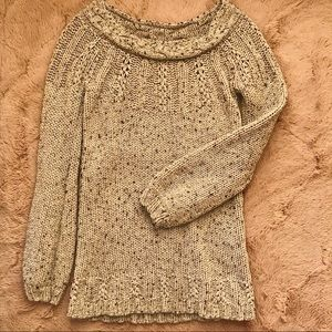 Gray Knit Sweater / Winter / Fall (S1)